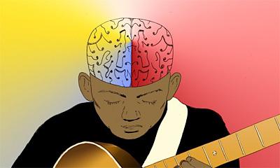 Тренировка мозга с помощью музыкальных инструментов